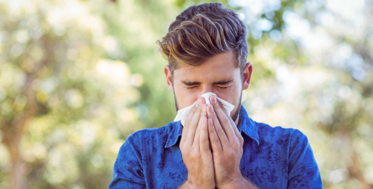 does water alleviate seasonal allergies