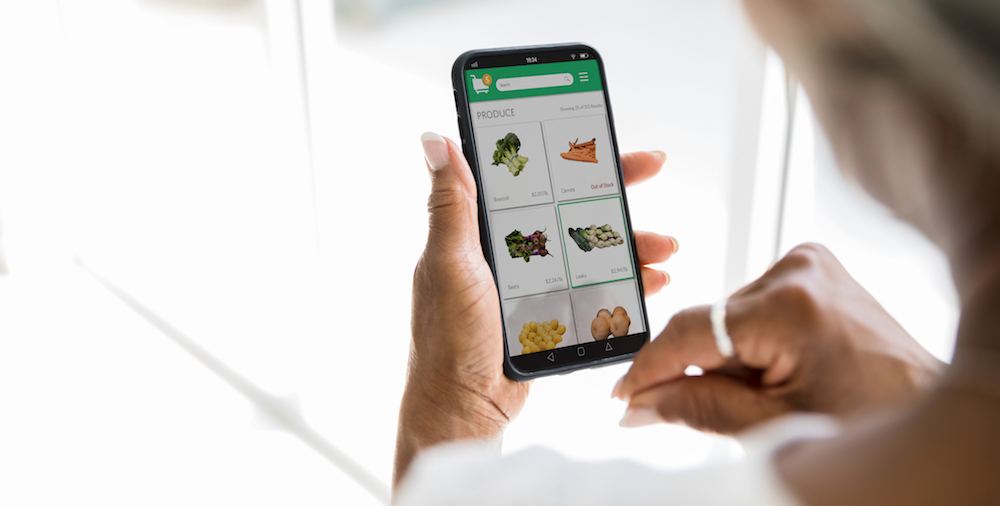 online grocery ordering